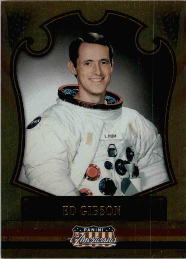 2011 Panini Americana Foil Ed Gibson #95 card front image