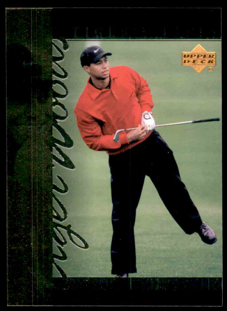 2001 Upper Deck Tiger's Tales Tiger Woods #TT22 card front image