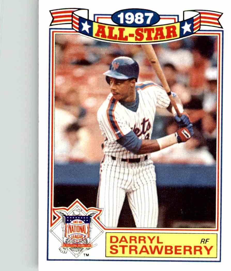 1988 Topps Darryl Strawberry 19 Of 22 On Kronozio