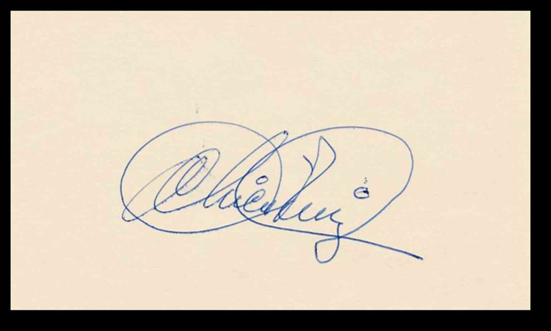 1964 3X5 Chico Ruiz card front image