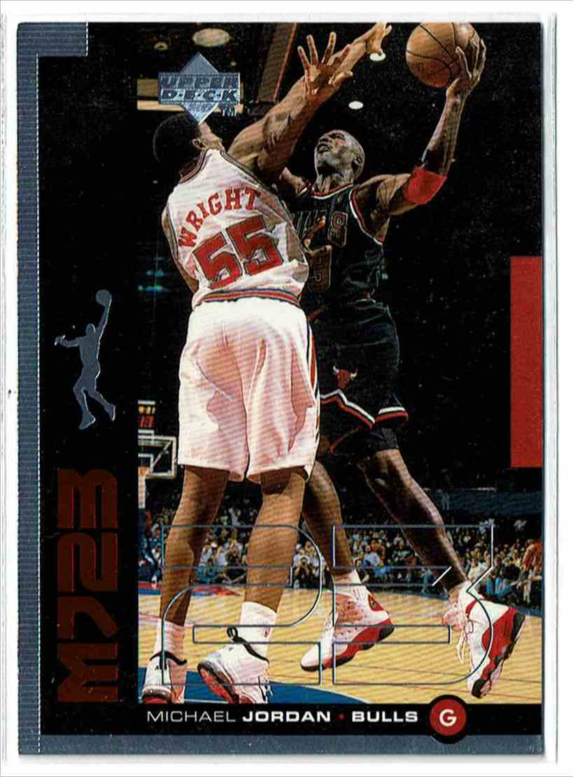 1998-99 Upper Deck Mj23 Michael Jordan #M8 card front image
