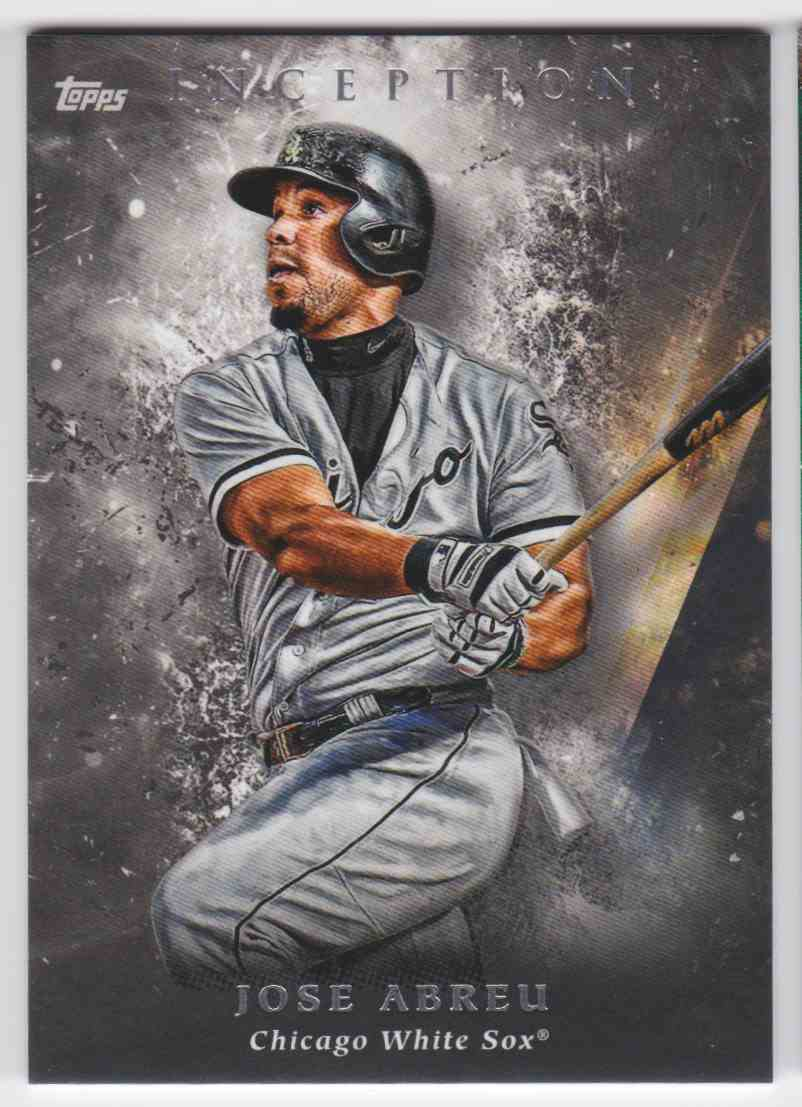 2018 Topps Inception Jose Abreu 84 On Kronozio