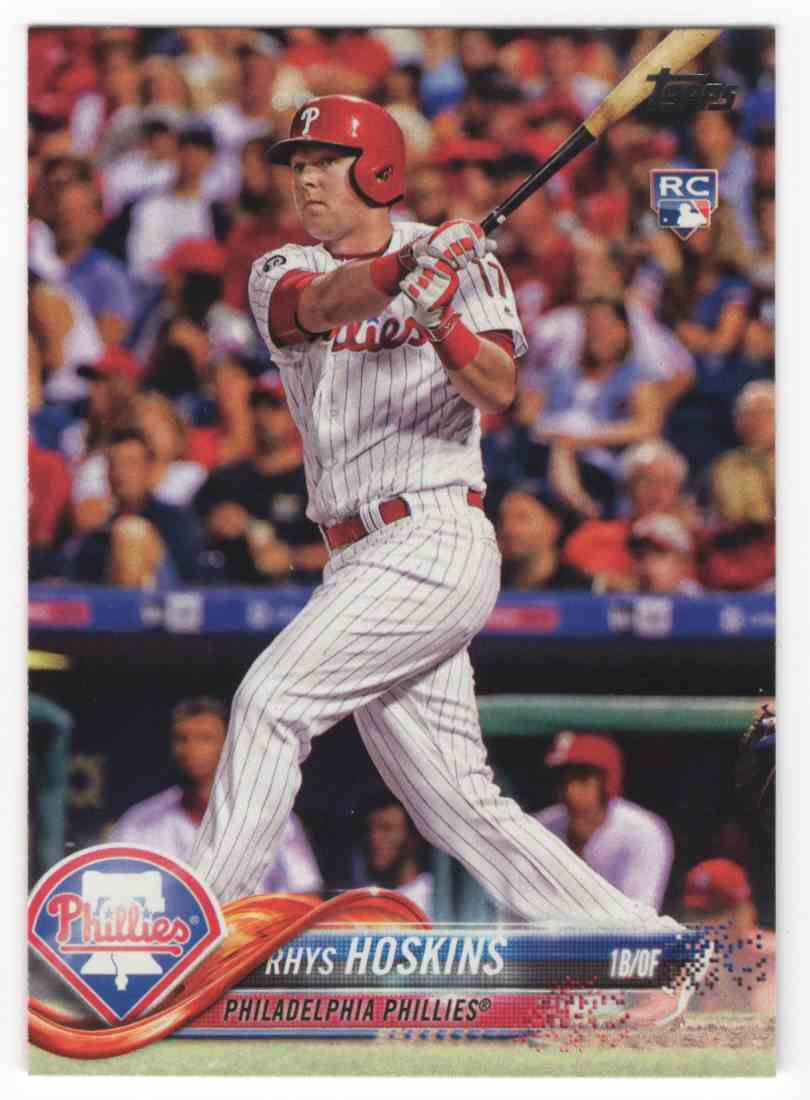 2018 Topps Rhys Hoskins #259 card front image