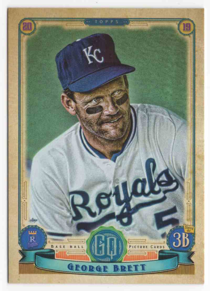 2019 Topps Gypsy Queen George Brett SP #315 card front image