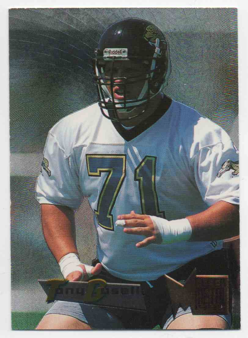 1995 Metal Tony Boselli #87 card front image
