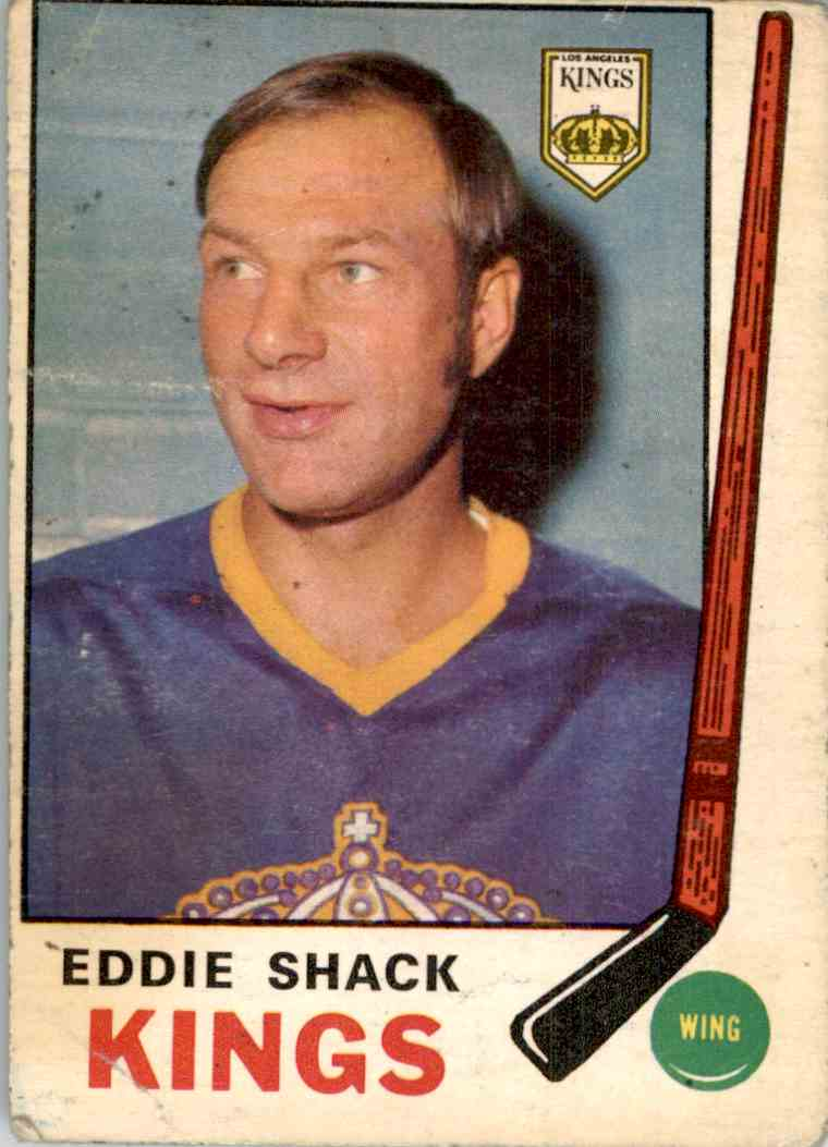 1969-70 O-Pee-Chee Eddie Shack #139 card front image
