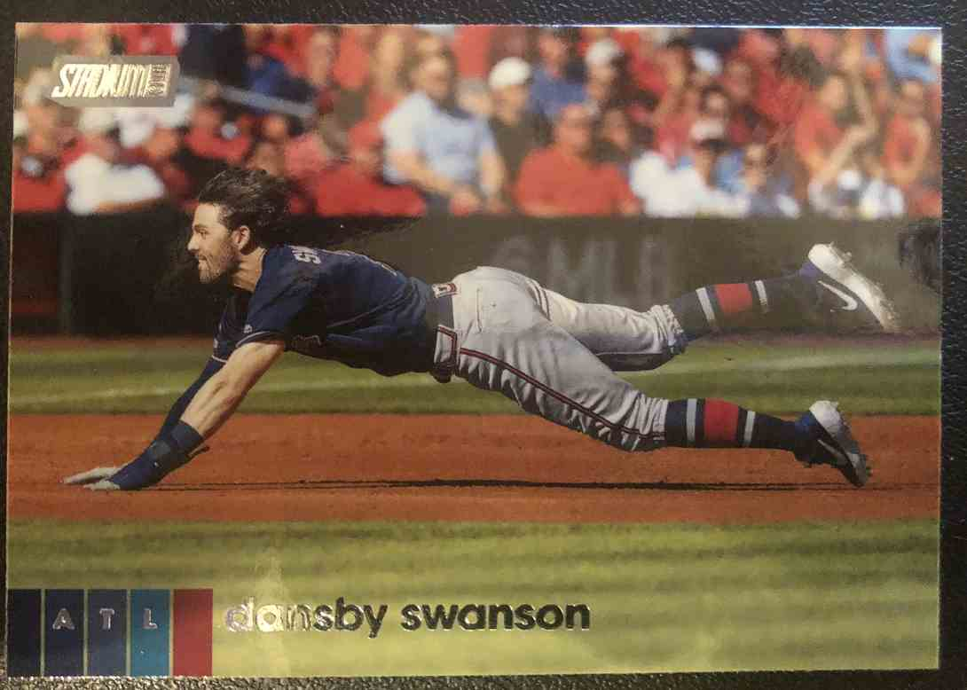 2020 Topps Stadium Club Dansby Swanson #280 card front image