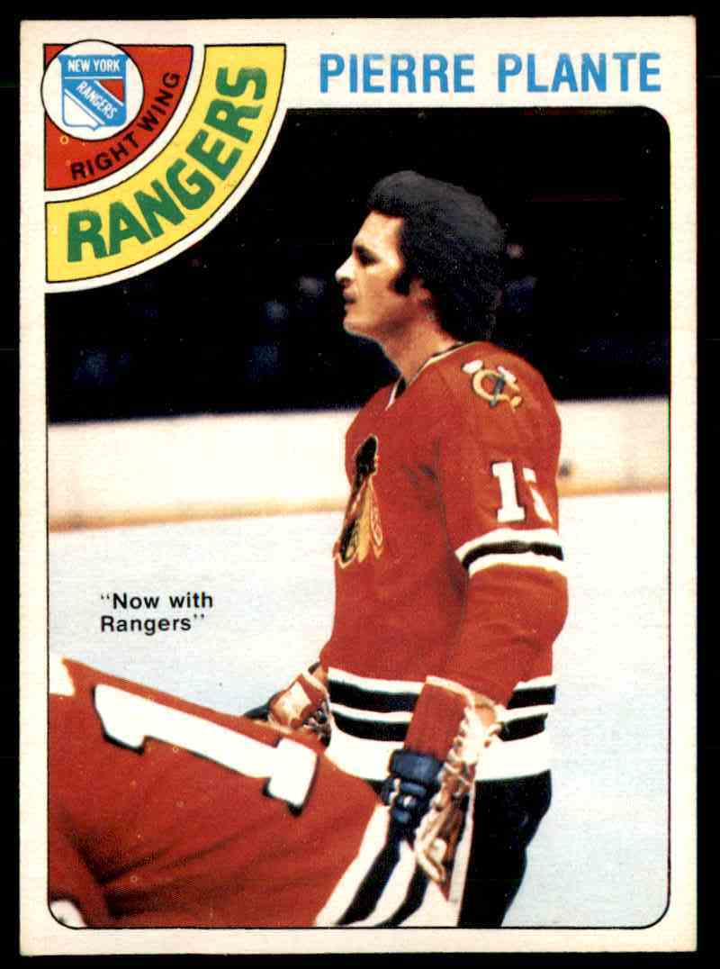 1978-79 O-Pee-Chee Pierre Plante #179 card front image