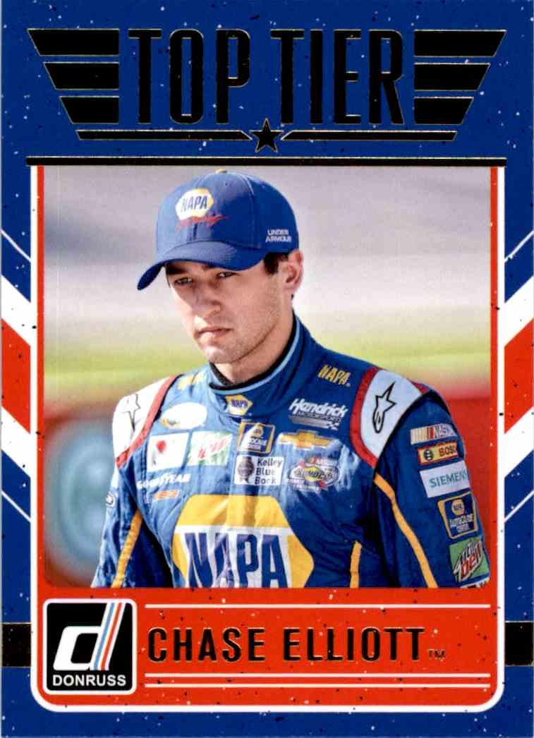 2017 Panini Donruss Racing Chase Elliott #TT2 card front image