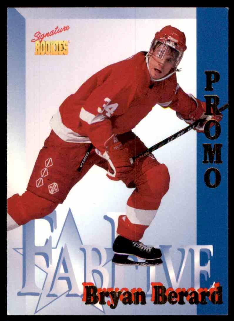 1995-96 Signature Rookies Bryan Berard #FF1 card front image