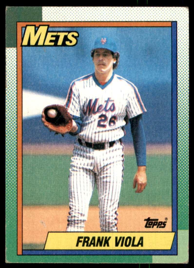 1990 Topps Frank Viola #470 card front image