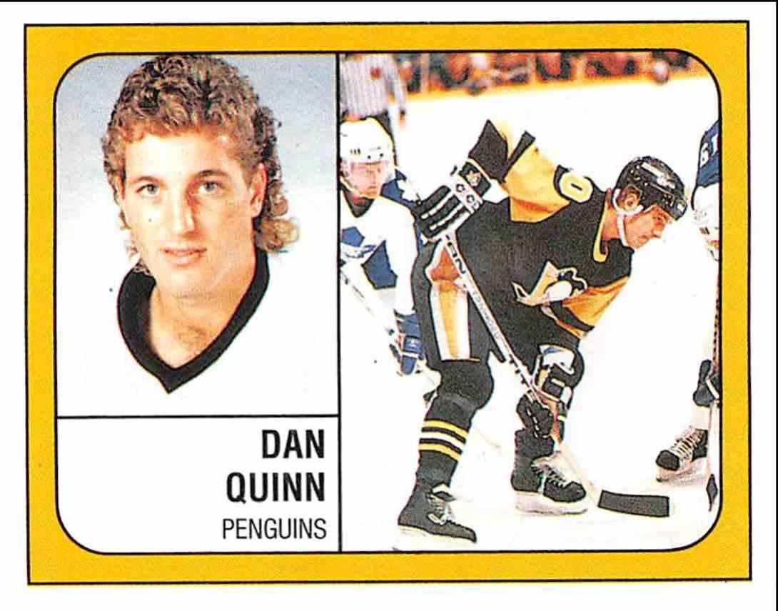 1988 89 Panini Stickers Dan Quinn 342 On Kronozio