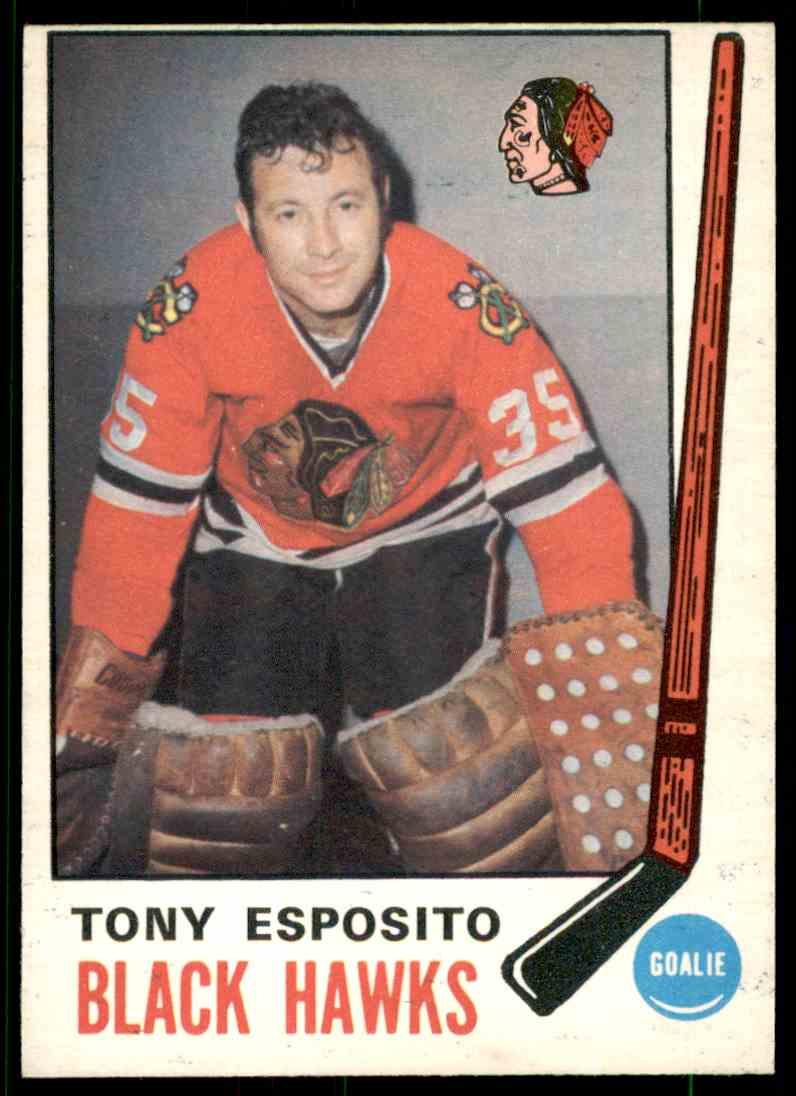 1968-69 O-Pee-Chee Tony Esposito #138 card front image