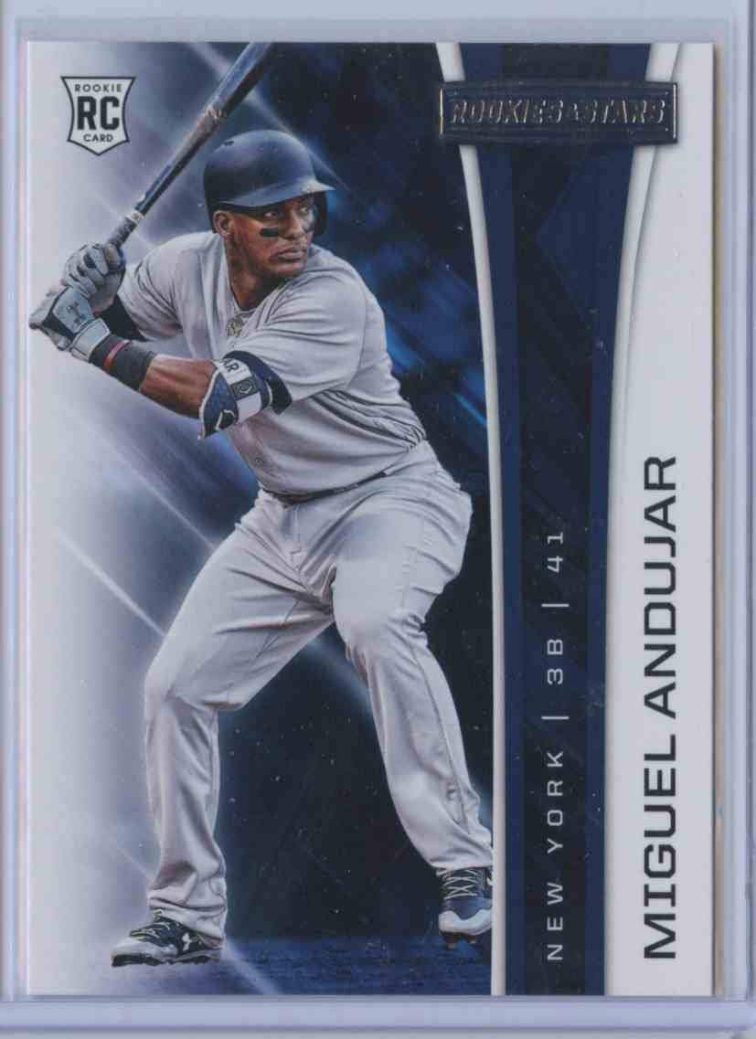 2018 Rookie & Stars Miguel Andujar #4A card front image