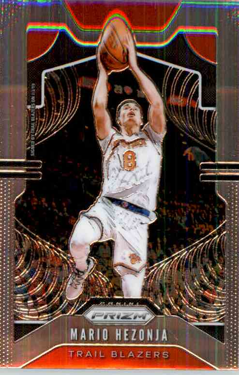 2019-20 Panini Prizm Basketball Prizm Mario Henzoja #219 card front image