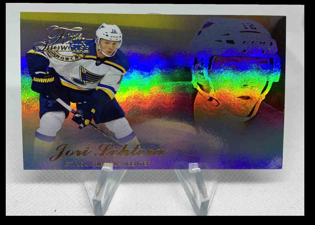 2015-16 Fleer Showcase Jori Lehtera #65 card front image