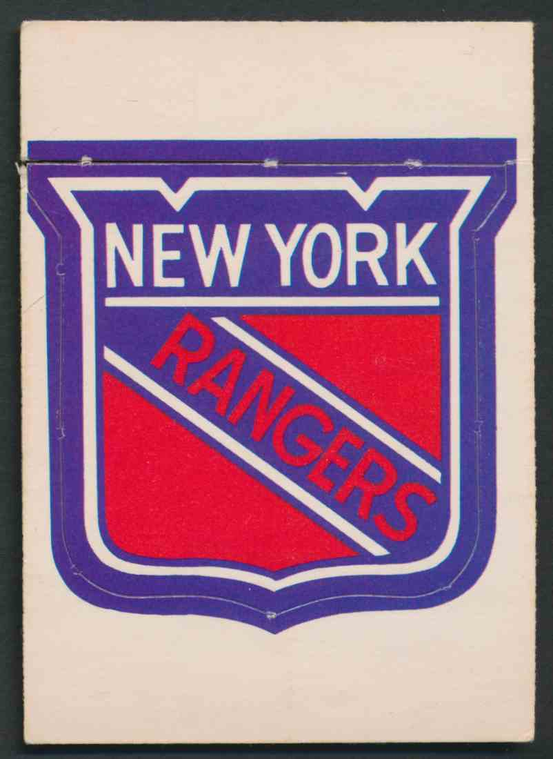 1972-73 O-Pee-Chee New York Rangers Logo #12 card front image