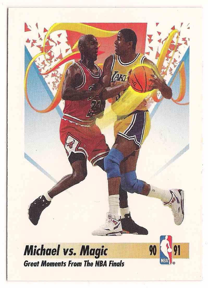 1991-92 Skybox Michael Jordan #333 card front image