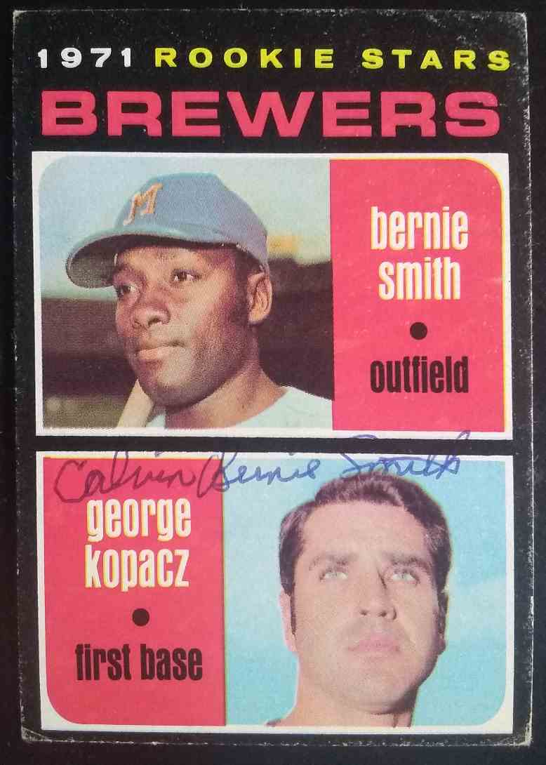 1971 Topps Charlie Smith #204 card front image