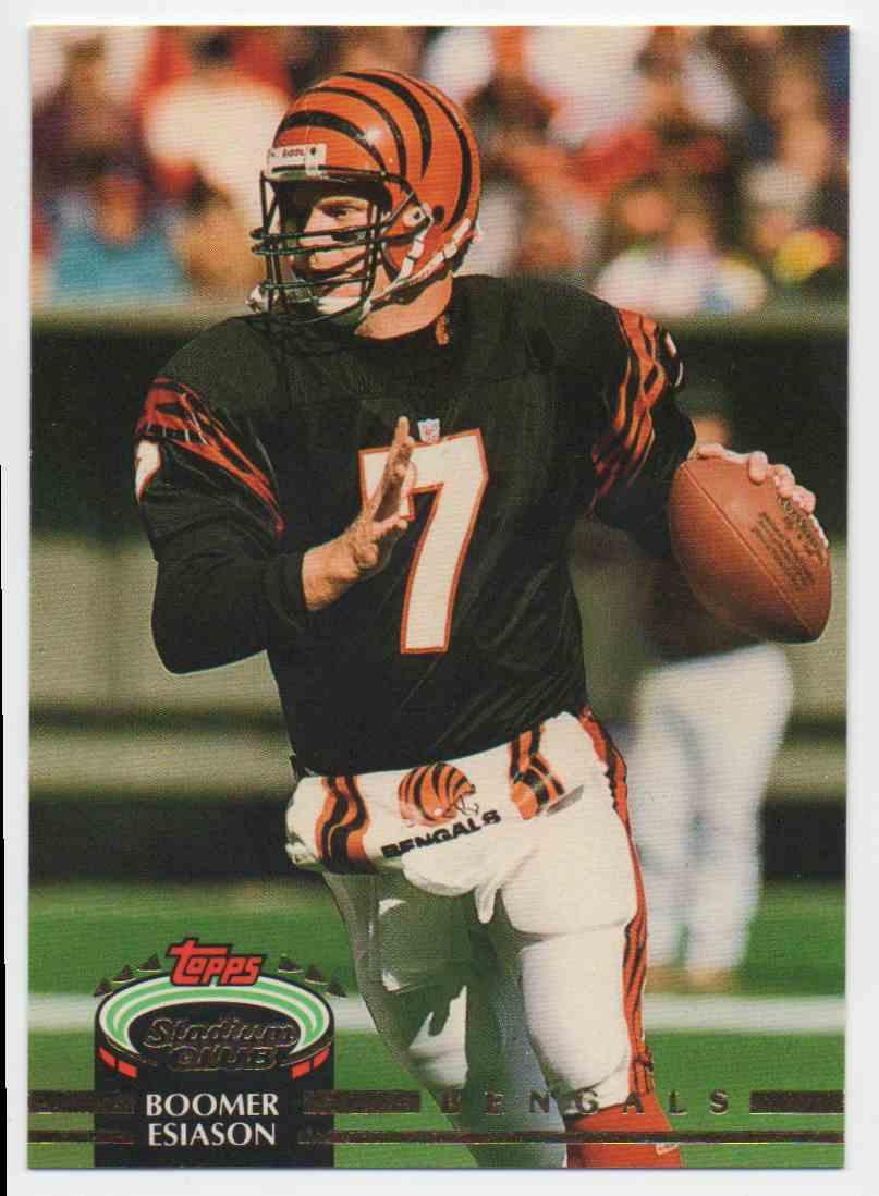 1992 Stadium Club Boomer Esiason #615 card front image