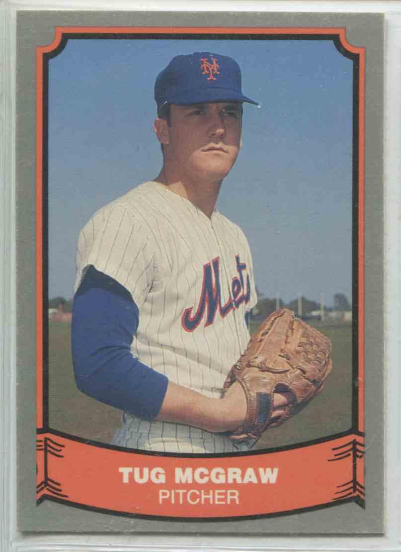 1988 Pacific Baseball Legends Tug Mcgraw 96 On Kronozio