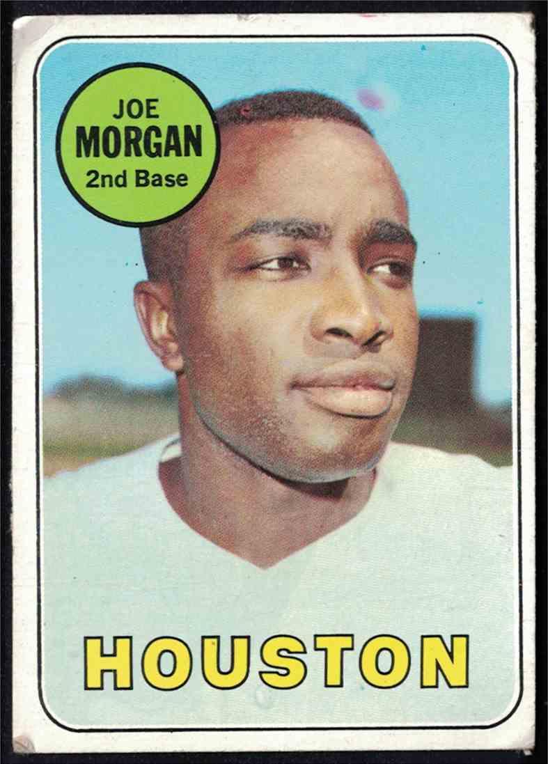 1969 Topps Joe Morgan VG crease #35 card front image