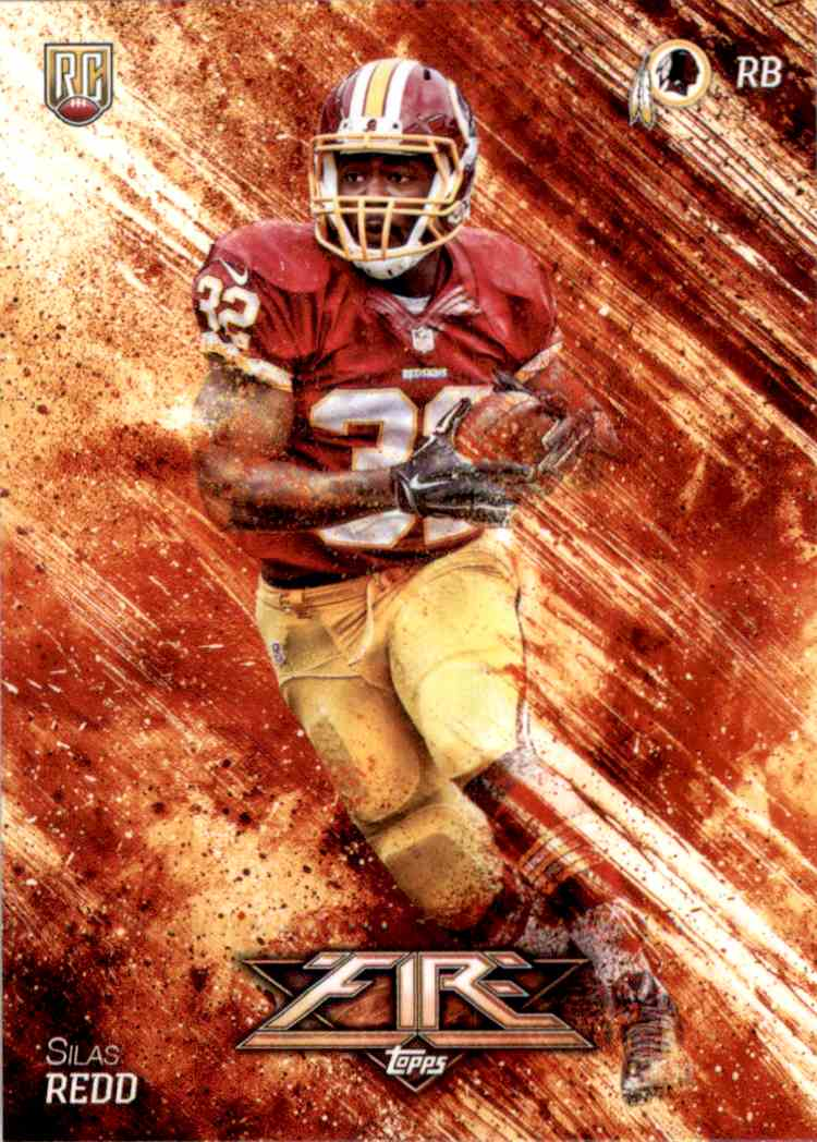 2014 Topps Fire Silas Redd RC #141 card front image