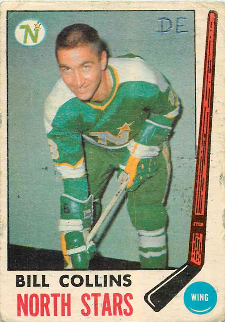 1969-70 Topps Bill Collins #126 card front image