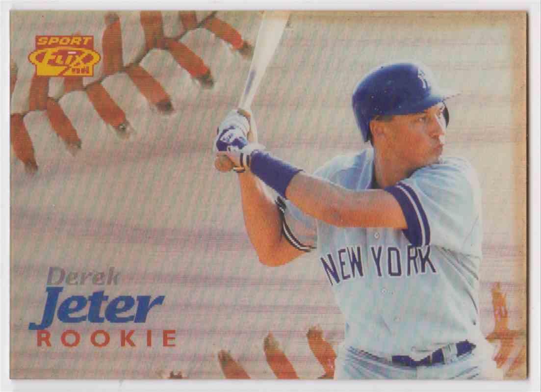 1996 Sport Flix Rookie Derek Jeter 139 On Kronozio
