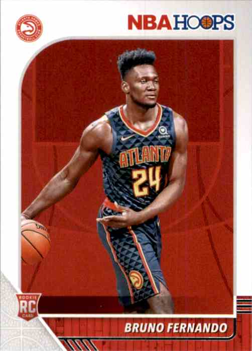 2019-20 Hoops Bruno Fernando RC #228 card front image