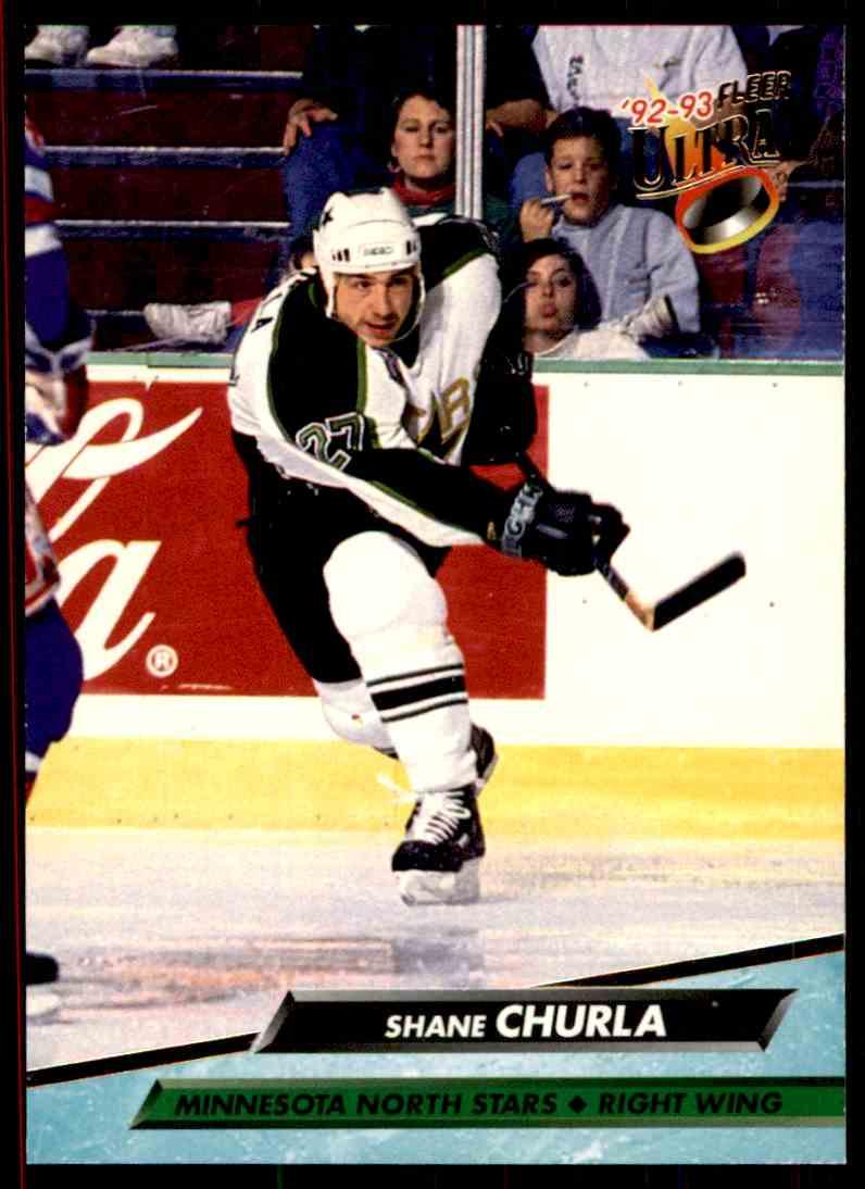 1992-93 Fleer Ultra Shane Churla #315 card front image