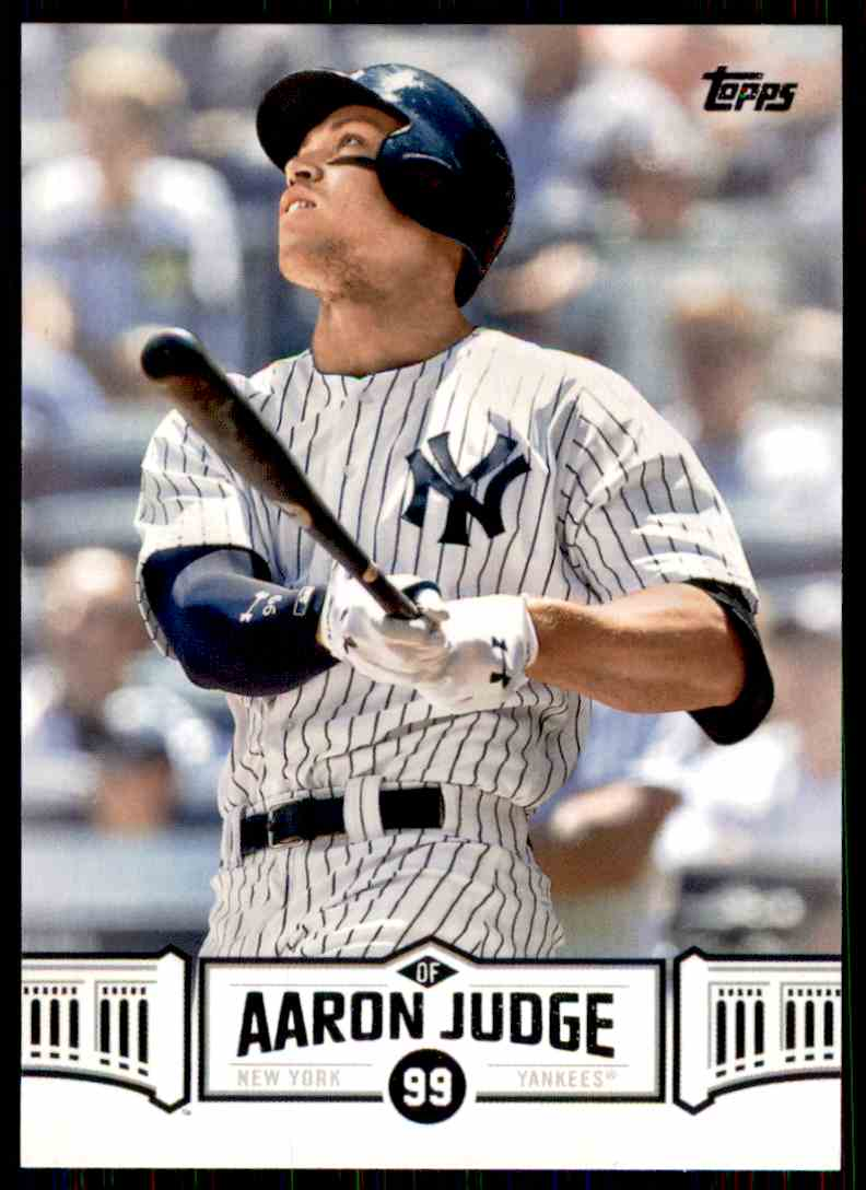 2018 Topps Aaron Judge #AJ-28 card front image