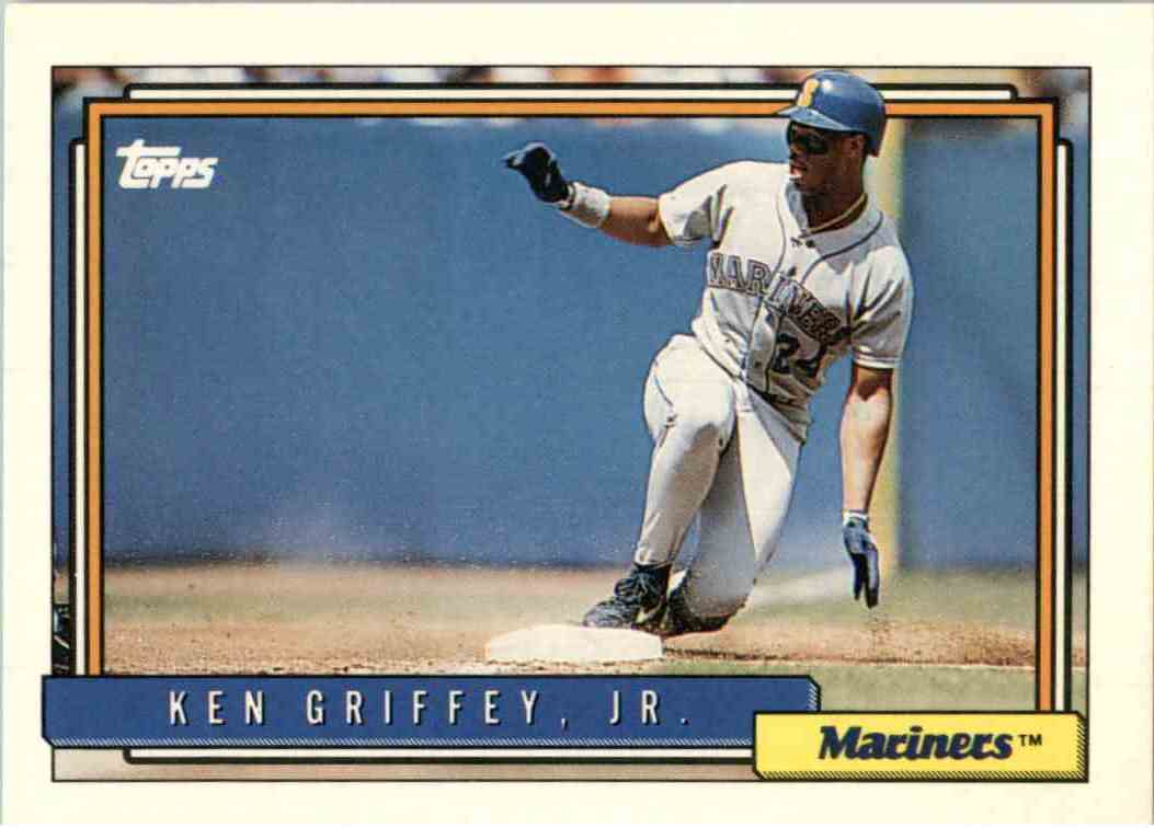 1992 Topps Ken Griffey Jr 50 On Kronozio