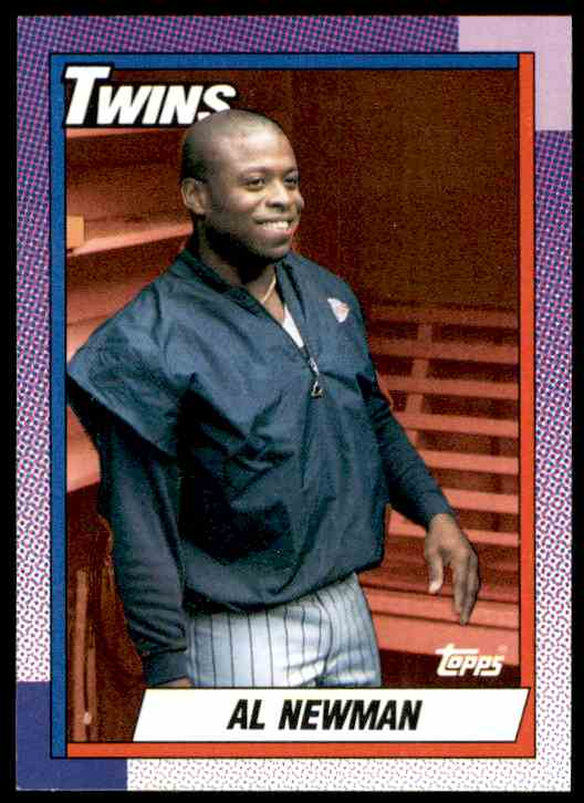 1990 Topps Al Newman #19 card front image