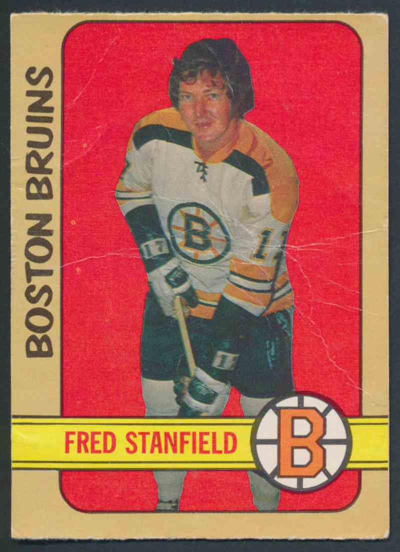 1972-73 O-Pee-Chee Fred Stanfield #150 card front image
