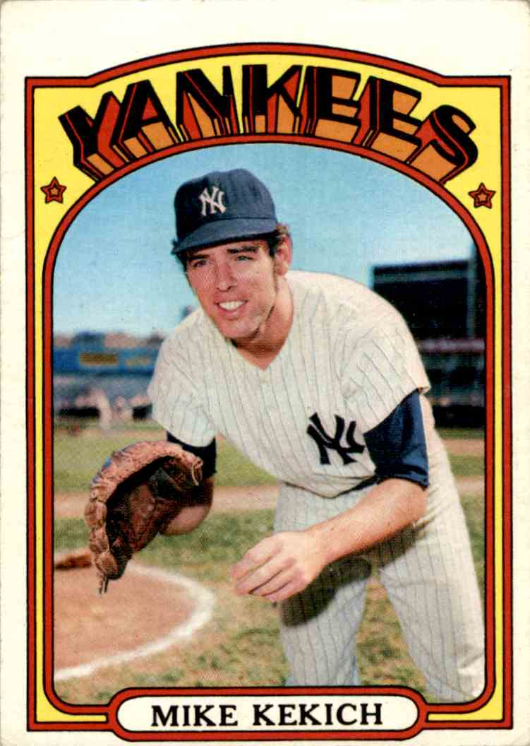 1971 Topps Mike Kekich #138 card front image
