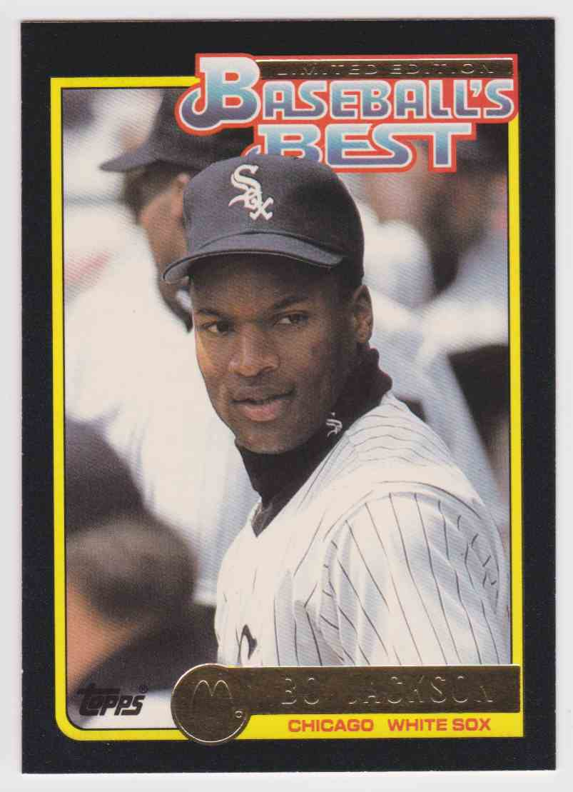 1992 Topps Mcdonald39s Baseball39s Best Bo Jackson 33 On Kronozio