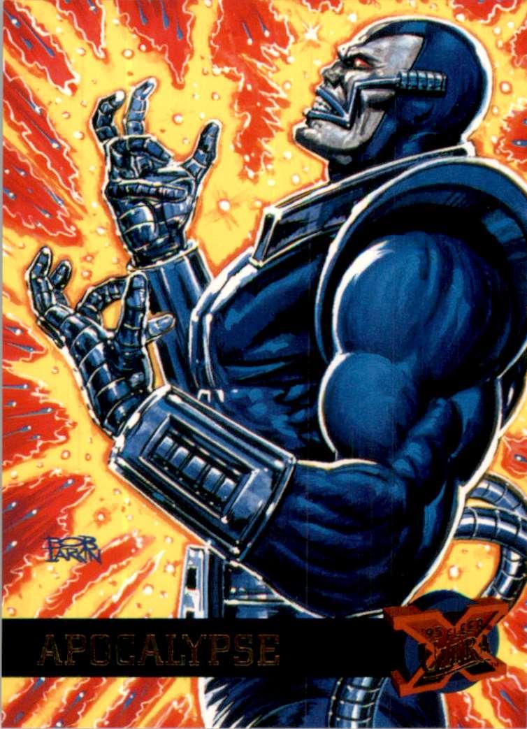 1995 X-Men Ultra Apocalypse #2 card front image