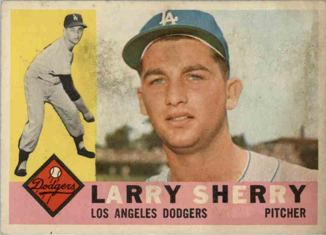1960 Topps Larry Sherry #105 card front image
