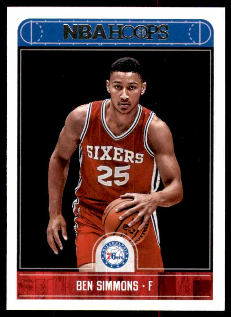 2017-18 Hoops Ben Simmons #2 card front image