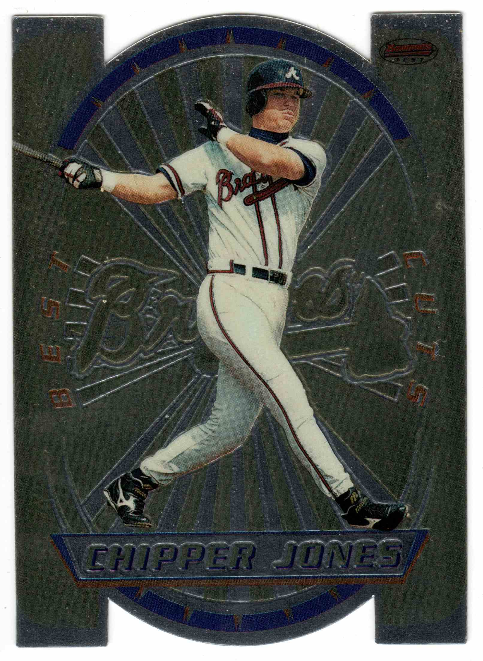 1996 Bowman's Best Chipper Jones #5 card front image