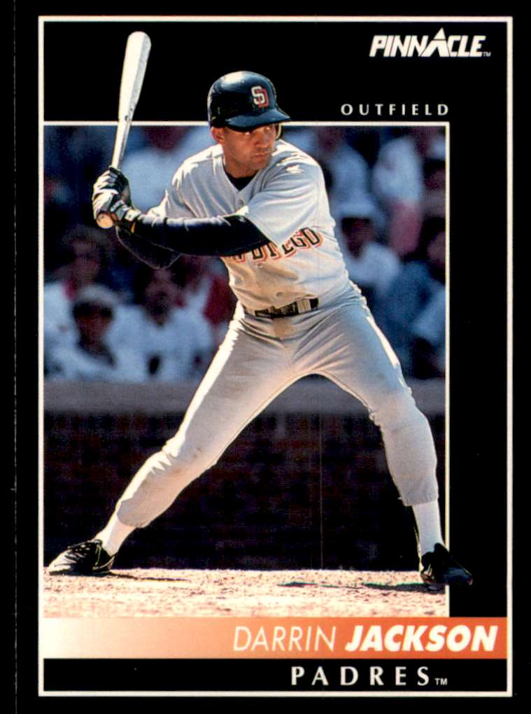 1992 Pinnacle Darrin Jackson #207 card front image