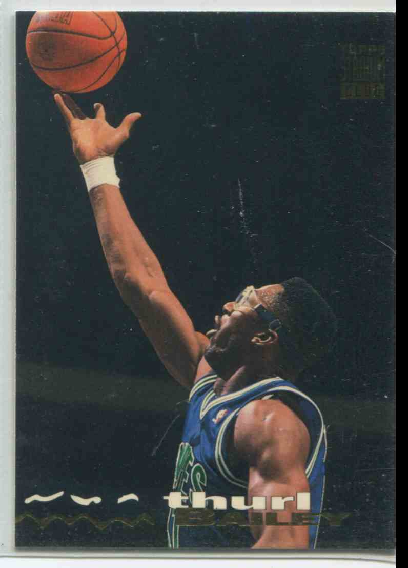 199 Thurl Bailey trading cards for sale