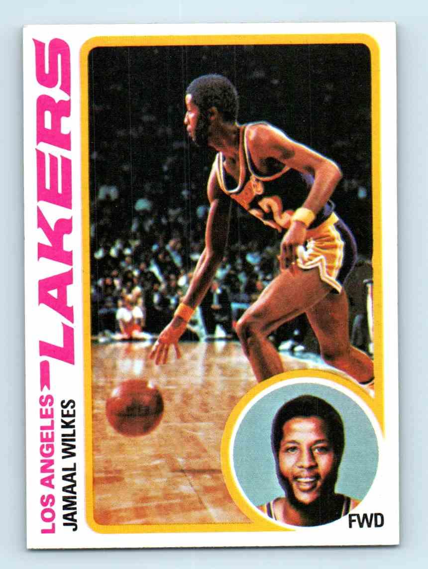 1978 79 Topps Jamaal Wilkes 3 on Kronozio
