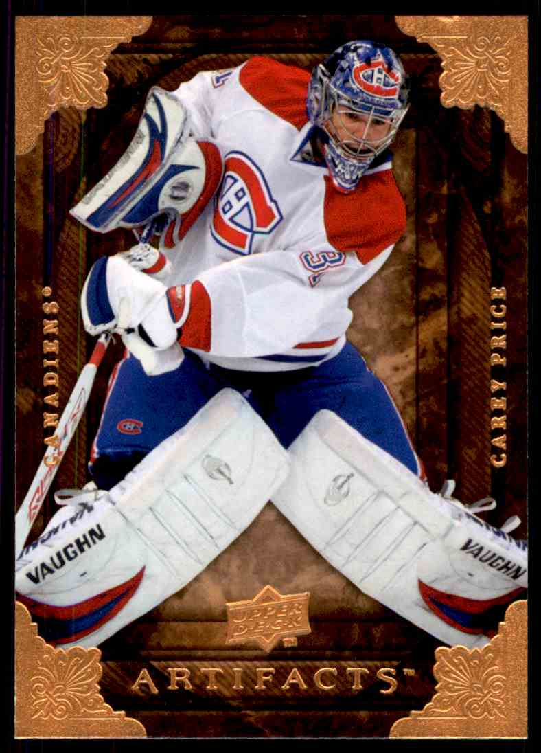 2008-09 Upper Deck Artifacts Carey Price #46 card front image