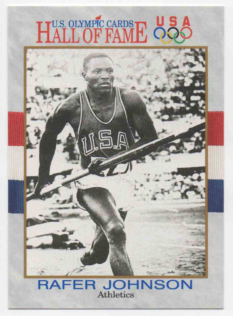 1991 Impel U.S. Olympic Hall Of Fame Rafer Johnson #9 card front image