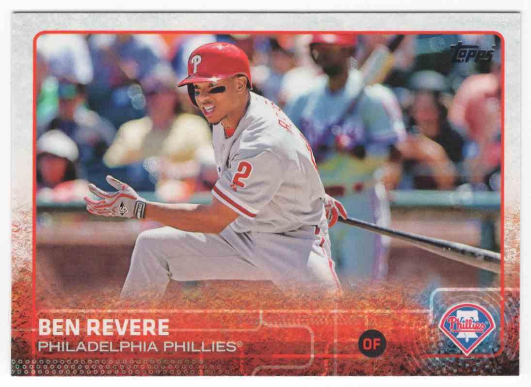 2015 Topps Ben Revere #123 card front image
