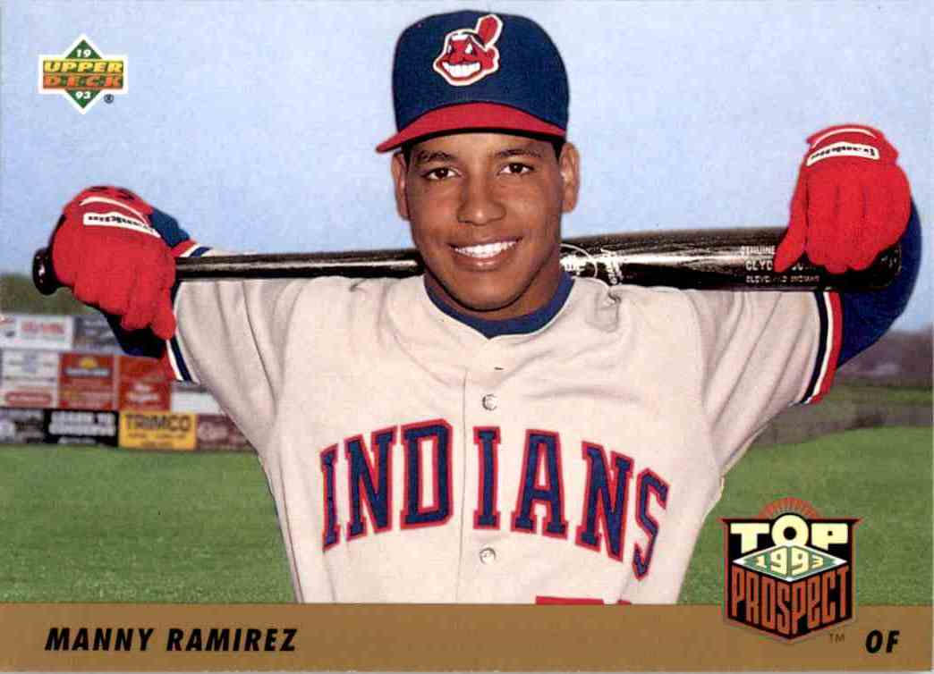 1993 Upper Deck Series 2 Top 91 Prospects Manny Ramirez #433 card front image