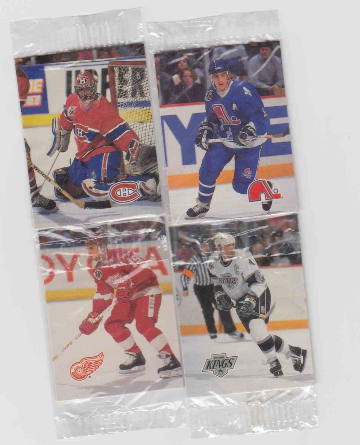 1992-93 Humpty Dumpty NHL Hockey - Complete Set (52) - Cello Serie (1 & 2) card front image