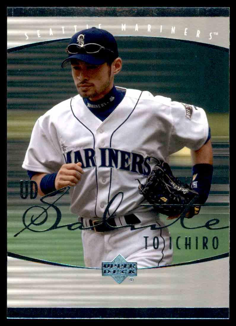 2001 Upper Deck Rookie Update Ichiro Tribute Ichiro Suzuki